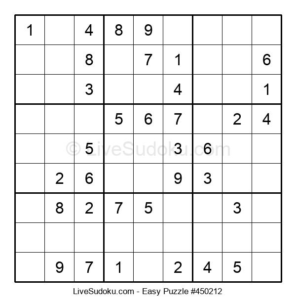 Beginners Puzzle #450212