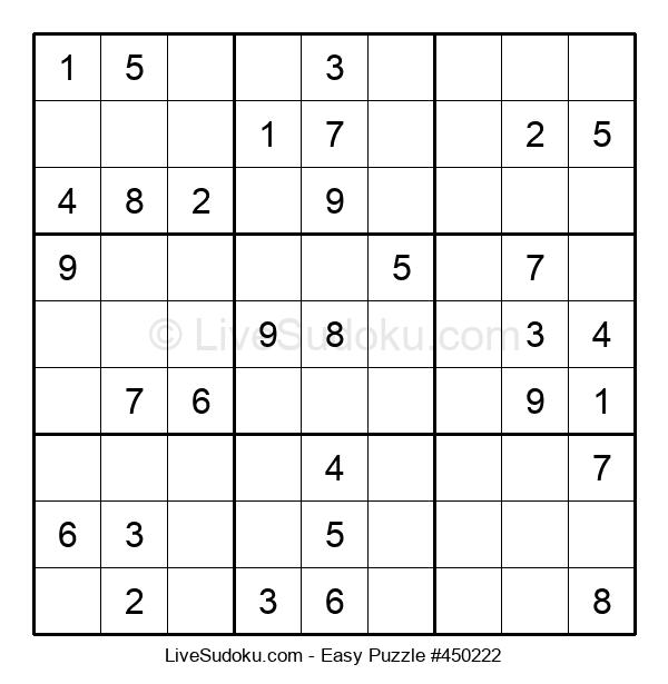 Beginners Puzzle #450222