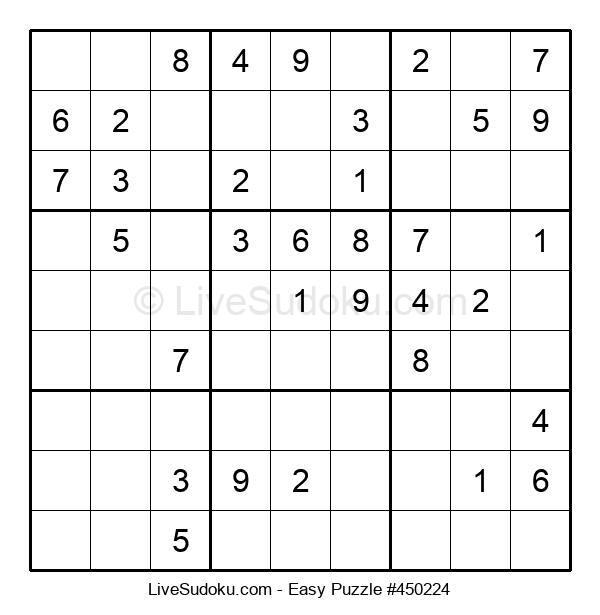 Beginners Puzzle #450224