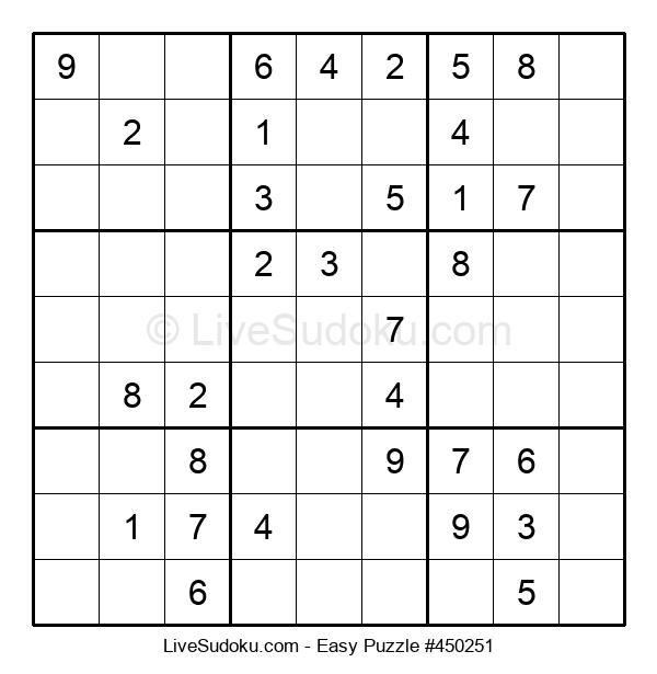 Beginners Puzzle #450251