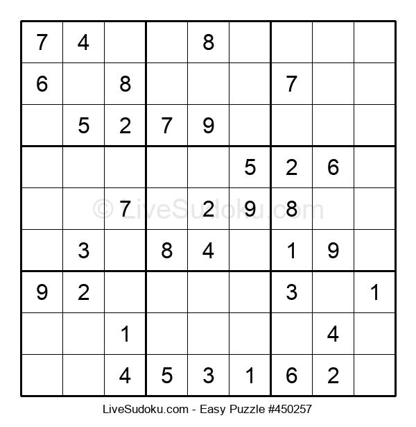 Beginners Puzzle #450257