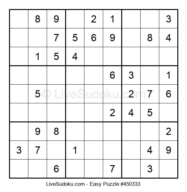 Beginners Puzzle #450333