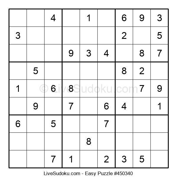 Beginners Puzzle #450340