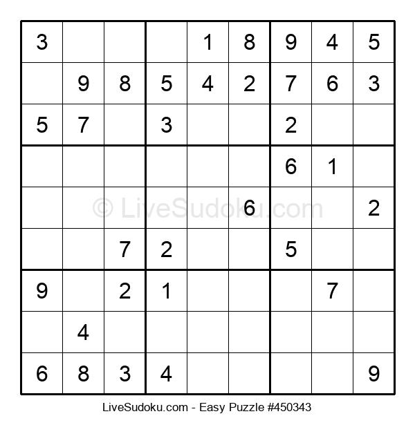 Beginners Puzzle #450343
