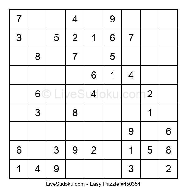 Beginners Puzzle #450354