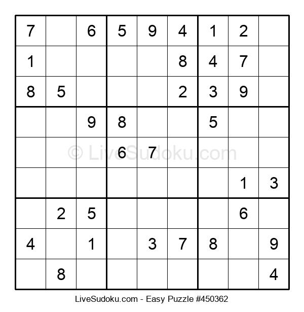 Beginners Puzzle #450362