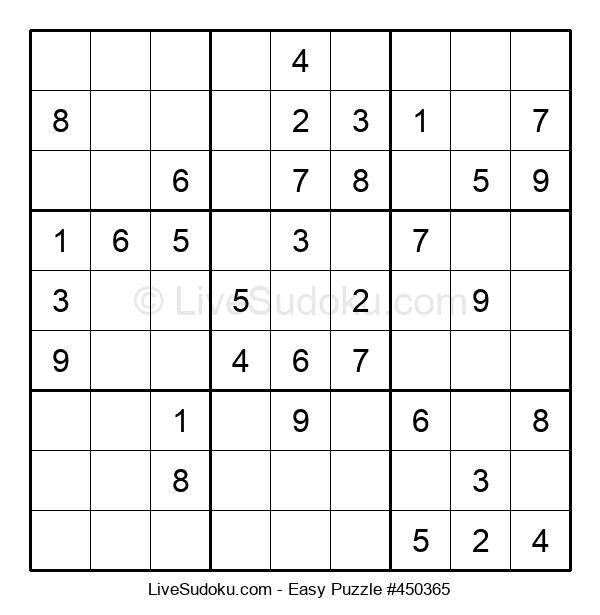 Beginners Puzzle #450365