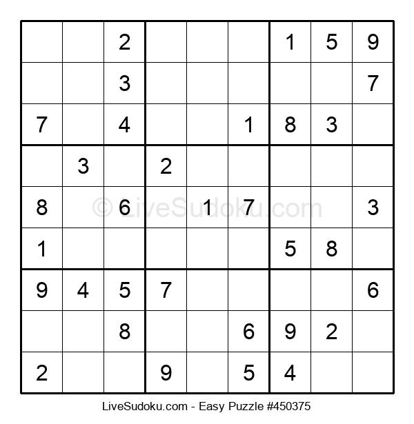 Beginners Puzzle #450375