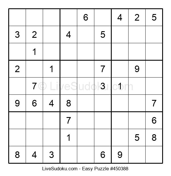 Beginners Puzzle #450388
