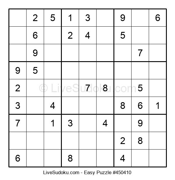 Beginners Puzzle #450410