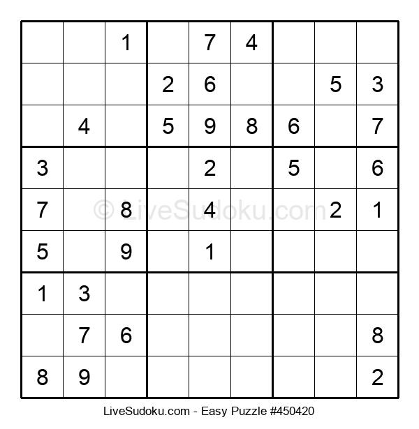 Beginners Puzzle #450420