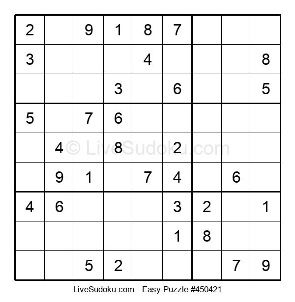 Beginners Puzzle #450421