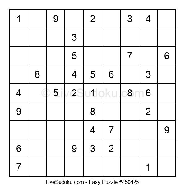 Beginners Puzzle #450425