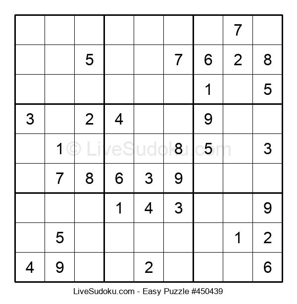 Beginners Puzzle #450439