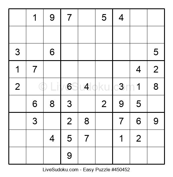 Beginners Puzzle #450452