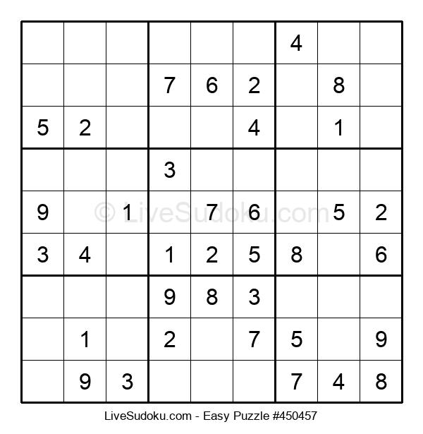 Beginners Puzzle #450457