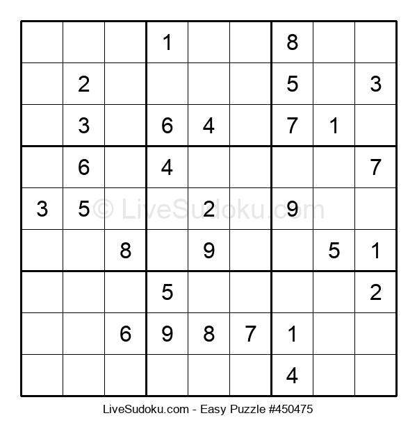 Beginners Puzzle #450475