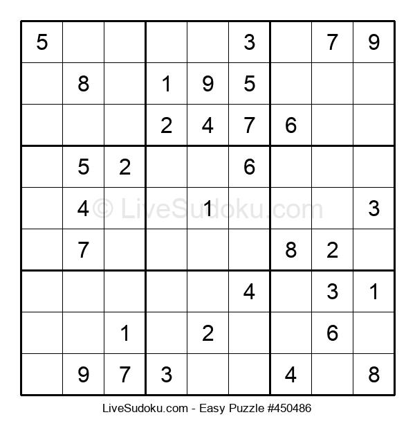 Beginners Puzzle #450486