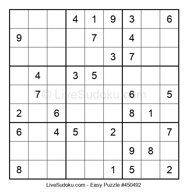 Beginners Puzzle #450492