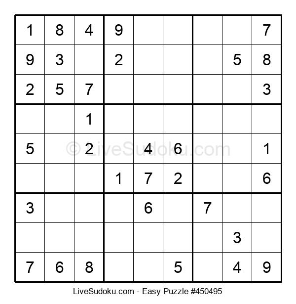 Beginners Puzzle #450495