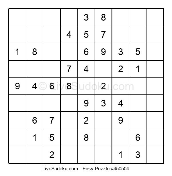 Beginners Puzzle #450504