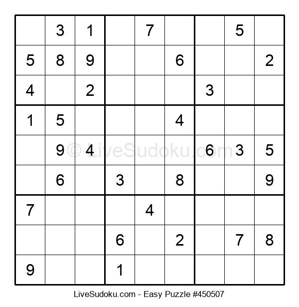 Beginners Puzzle #450507