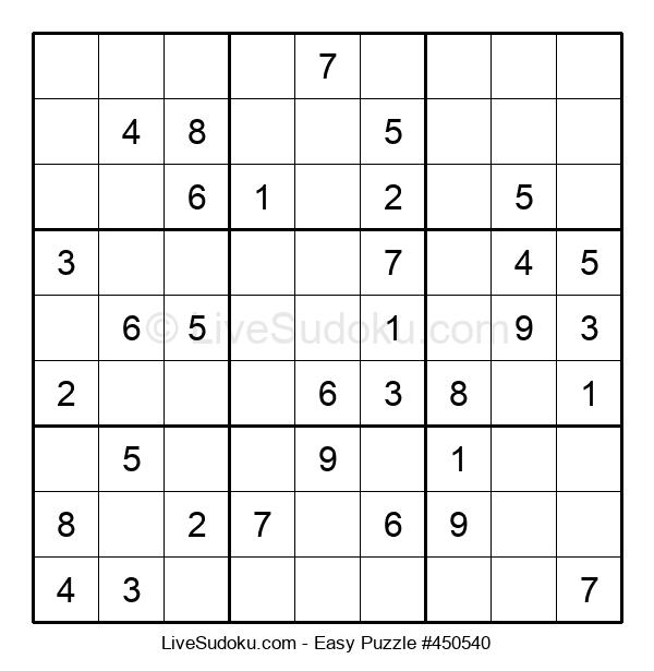 Beginners Puzzle #450540