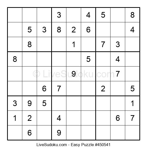 Beginners Puzzle #450541