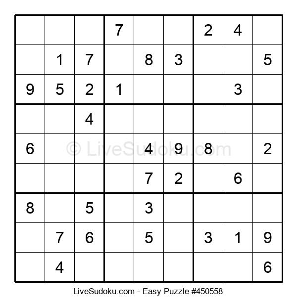 Beginners Puzzle #450558