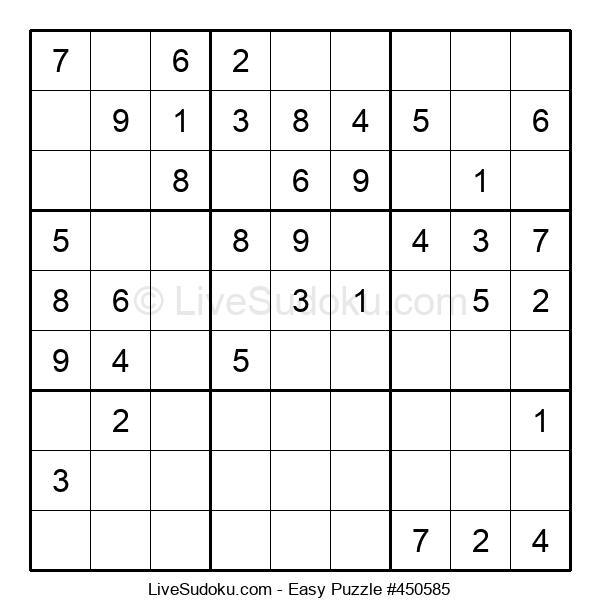 Beginners Puzzle #450585