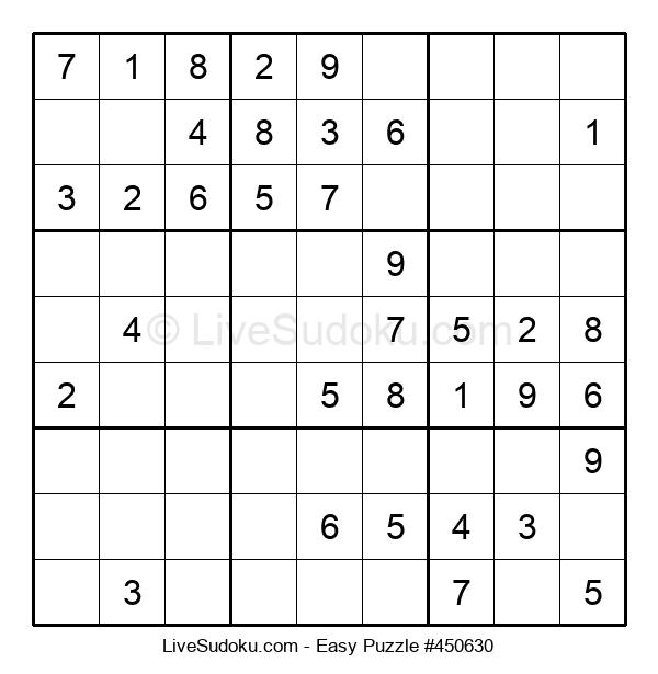 Beginners Puzzle #450630