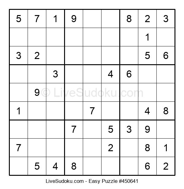 Beginners Puzzle #450641