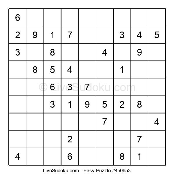 Beginners Puzzle #450653