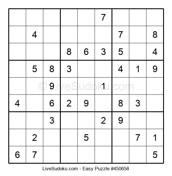 Beginners Puzzle #450658