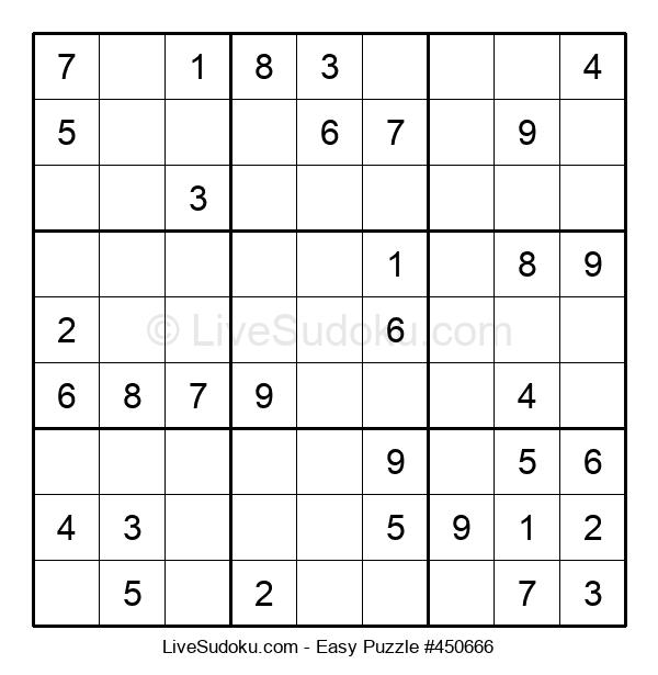 Beginners Puzzle #450666