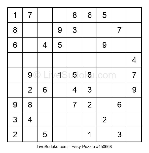 Beginners Puzzle #450668