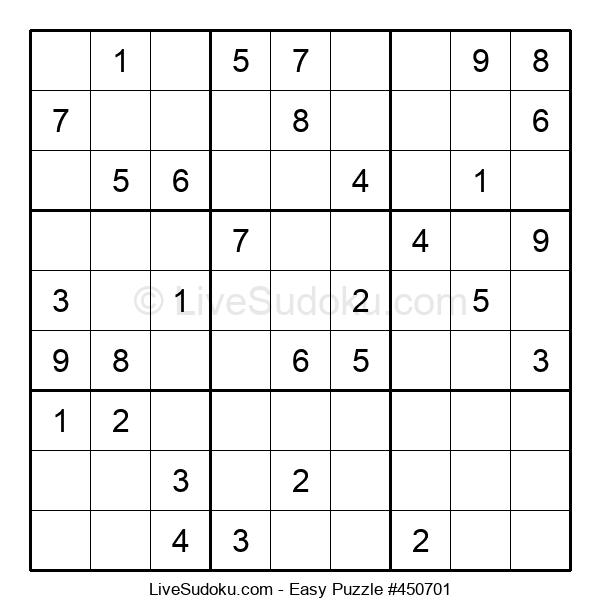 Beginners Puzzle #450701