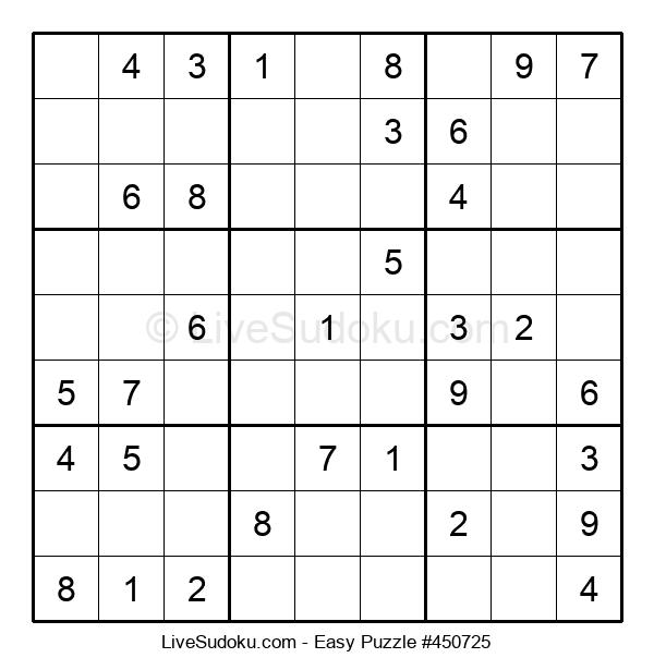 Beginners Puzzle #450725