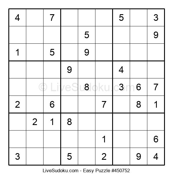 Beginners Puzzle #450752