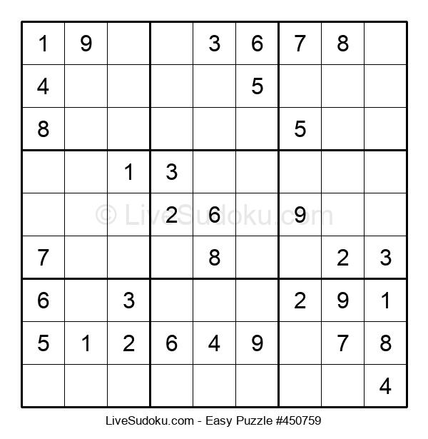 Beginners Puzzle #450759