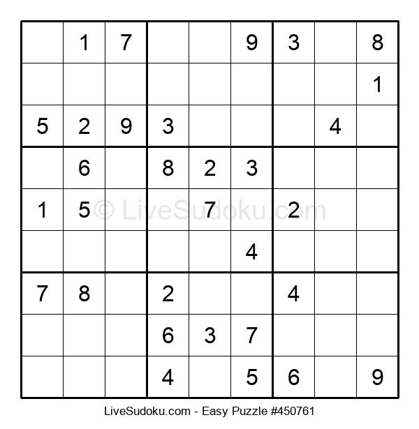 Beginners Puzzle #450761
