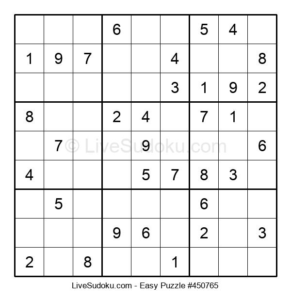 Beginners Puzzle #450765