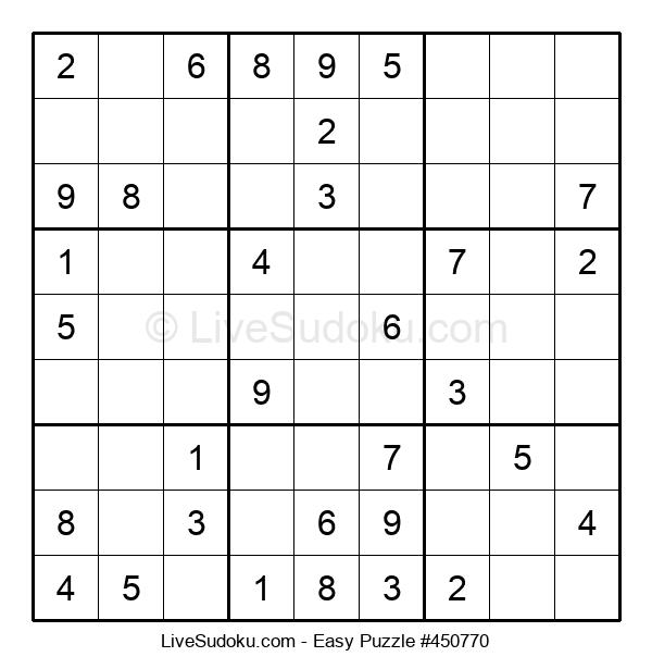 Beginners Puzzle #450770