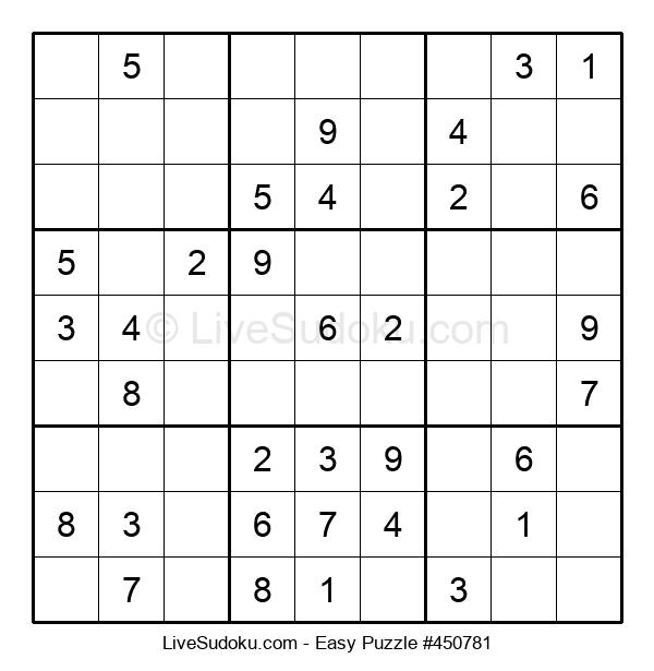 Beginners Puzzle #450781