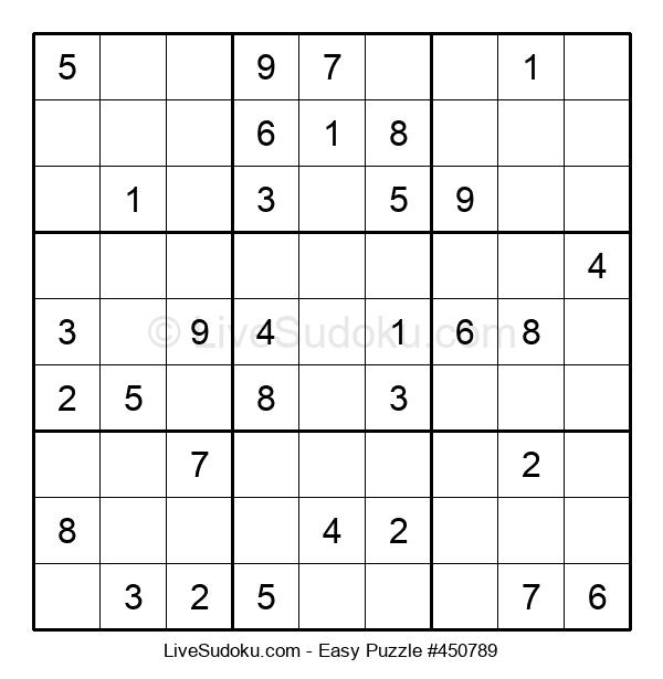 Beginners Puzzle #450789