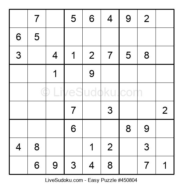 Beginners Puzzle #450804