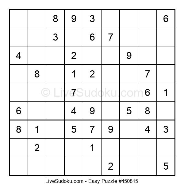 Beginners Puzzle #450815
