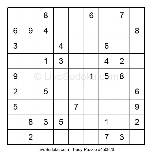 Beginners Puzzle #450826