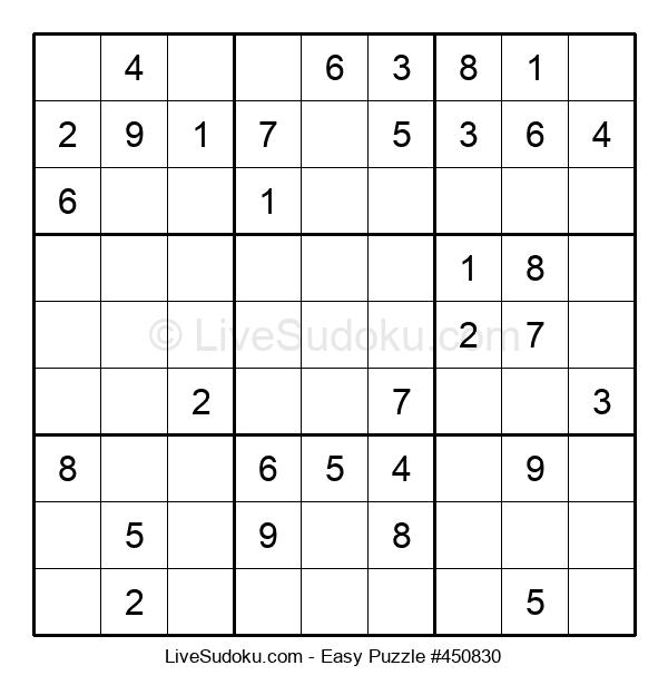 Beginners Puzzle #450830