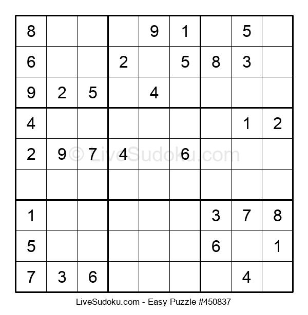 Beginners Puzzle #450837